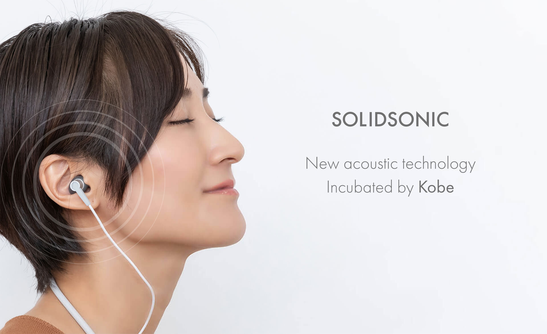 SOLID SONIC New acoustic technology Incubated by Kobe